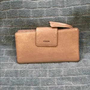Fossil credit card wallet